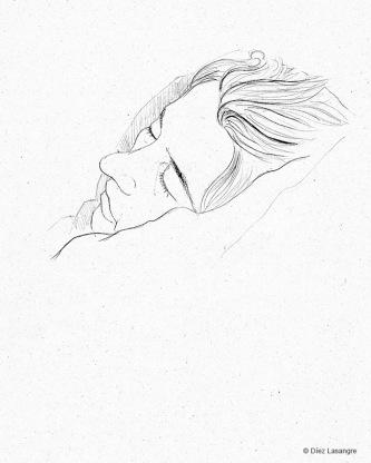 Marga dormida